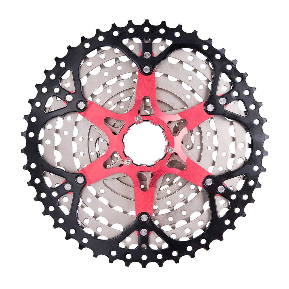 ZTTO 9 velocidad 11-46 T MTB bicicleta casete montaña bicicleta gran relación Sprockets 9 s k7 9 v rueda libre Compatible con M430 M4000 M590 - 3