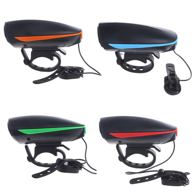 hot sale electronic bike bell ring 110db cycling bicycle horn