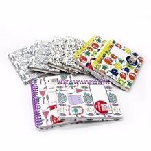 Хорошее 1 шт. блокнот мило катушки с наклейками четыре различные модели kawaii мини-ноутбук канцелярские школьные принадлежности личный дневник WH10