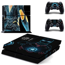 Iron Man Skin Sticker Cover for Sony PS4 PlayStation 4 and 2 controller skins