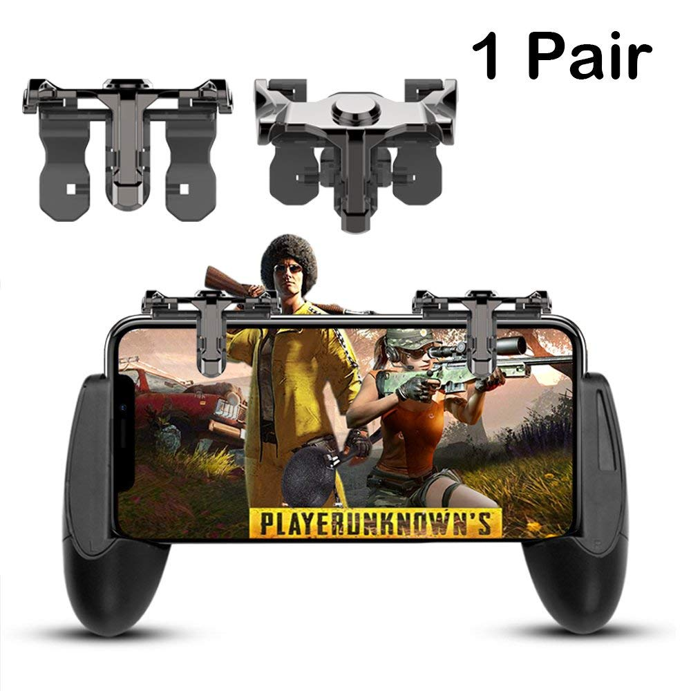 Portable L1R1 Gaming Trigger Smart Phone Game Shooter Controller Fire Button Handle For iPhone PUBG/Rules Survival/Knives Out