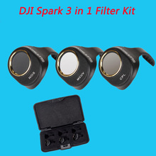 Newest 3Pcs ND8 + CPL Circular Polarizer + MCUV UV Camera Lens Filter Kit for DJI Spark for DJI SPARK Drone Accessories