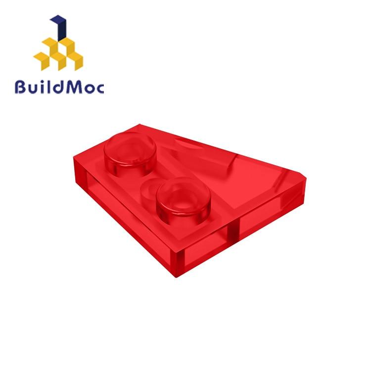 BuildMOC Compatible Assembles Particles 24307 2x2(Right) For Building Blocks DIY LOGO Educational High-Tech Spare Toys