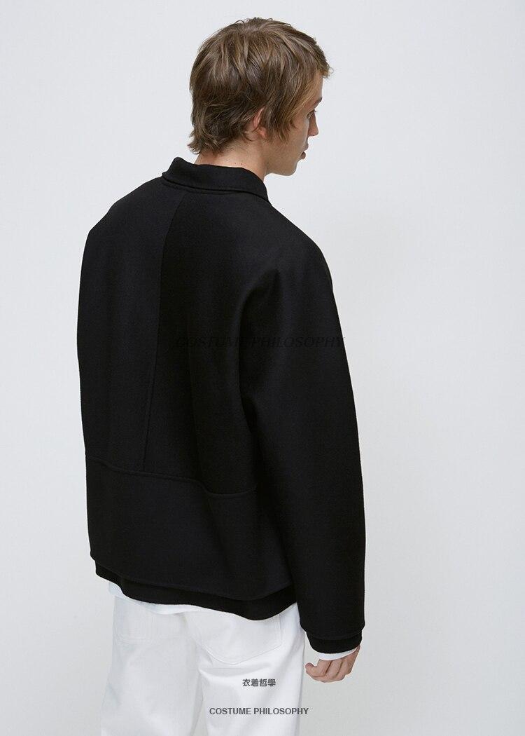 Veste De Mode Xs Personnalité Spectacle Costumes Couture Gd 6xl2019 Noir Taille Court Grande Modèle Styliste Hommes Vêtements Nouveaux Cheveux yvOP0wN8mn