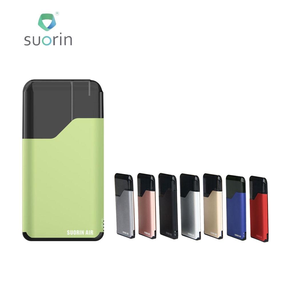 100% Originale Suorin Aria Starter Kit 400 mah All-in-one Kit di E-cig con 2 ml cartuccia di 16 w di Potenza Facile Da Trasportare Sigaretta Elettronica