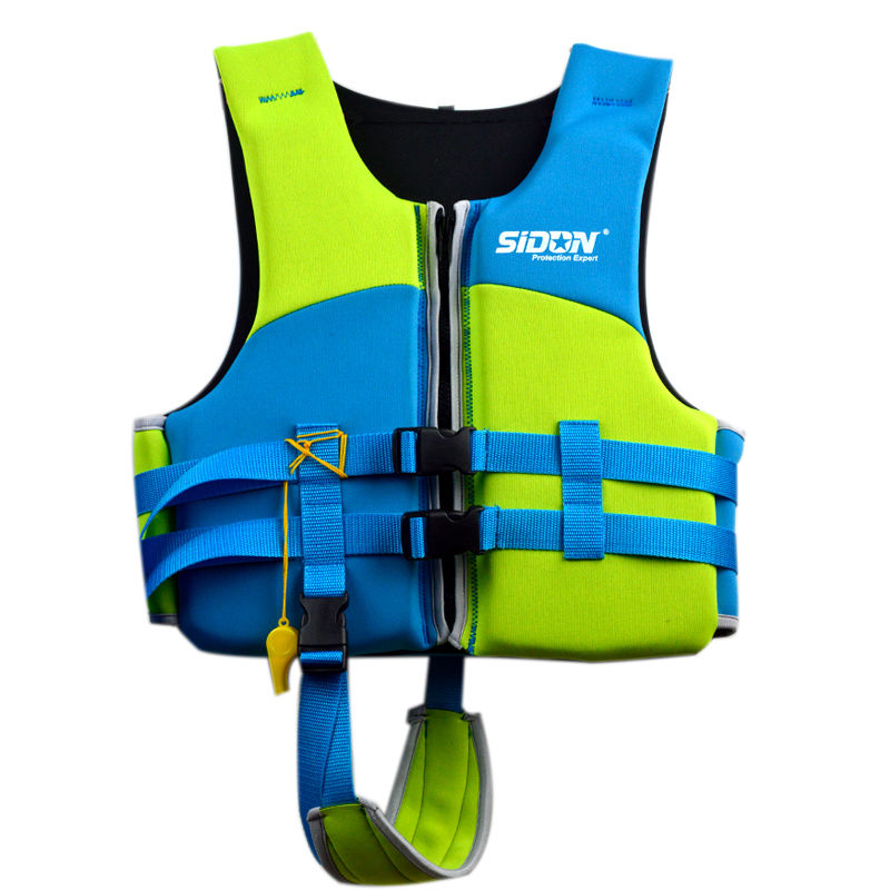Kids Lifesaving Vest Buoyancy Aid Sailing Kayak Life Jacket Drifting Swim Kayak Free shipping