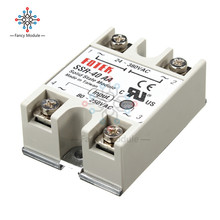SSR-40AA-H 40A Solid State Relay Module 80-280V AC / 90-480V