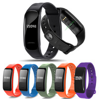 Bluetooth Smart Band Blood Pressure Heart Rate Monitor Wristband Waterproof Bracelet Sleep Tracker For Sports Fitness
