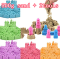 500g/bag Kinetic Dynamic Educational Sand clay Amazing DIY Indoor Magic Playing Sand Children Toys Mars Space Sand seven colour