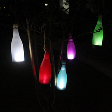 LED Solar Powered Bottle Light Hanging Patio Lamp Outdoor Solar Garden Light Table Bar Party Christmas Home Wedding Decoration