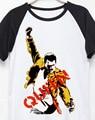 Banda de Rock cantante reina freddie made in cielo las estrellas de Rock de impresión t shirt hombres mujeres tamaño