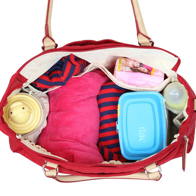 SUNVENO New Brand Diaper Bag For Mammy Argyle Checked Quilted Women Mummy Fashion Baby Nappy Bag Tote Multicolor | Happy Baby Mama