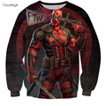 3D Men Deadpool Hoodies Men Anime Harajuku Hip Hop Sweatshirt Men Assassins Creed Chandal Hombre Hoodie