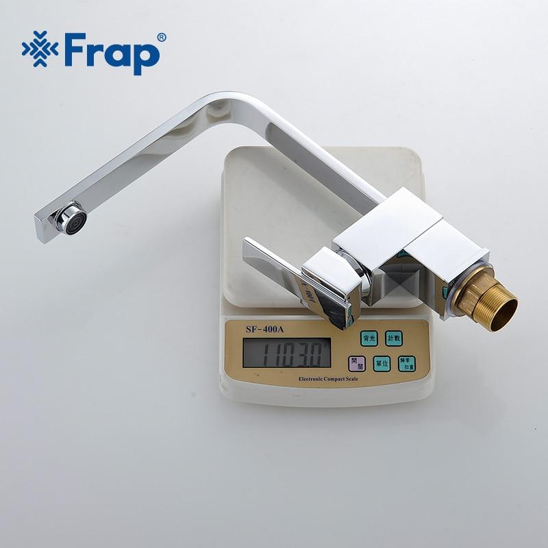 Frap offre spéciale 1 set mélangeur de cuisine en laiton robinet de cuisine froid et chaud robinet d'eau monotrou robinet de cuisine Torneira Cozinha Y40029 - 5
