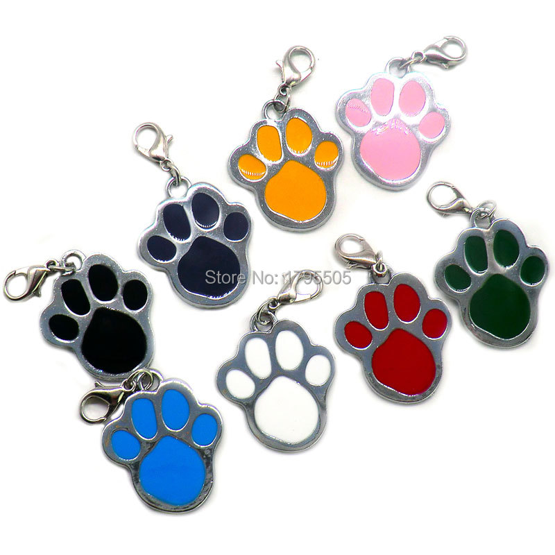 Wholesale 20pcs Personalized <font><b>Dog</b></font> ID Tags Anti-Lost Pet ID Tags for cats <font><b>dogs</b></font> <font><b>Collar</b></font> Accessories <font><b>Dog</b></font> Tag Engrave Tel <font><b>Sex</b></font> Name pet image
