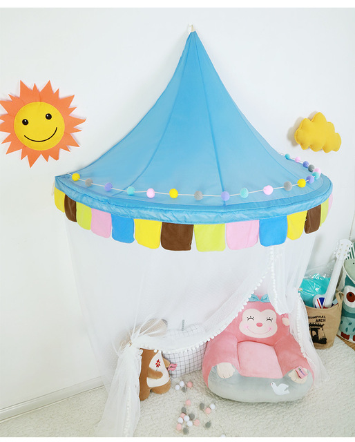 YARD Children Curtains Tent Bed Canopy Kids Indoor Play Tents House Castle  Play House For Children