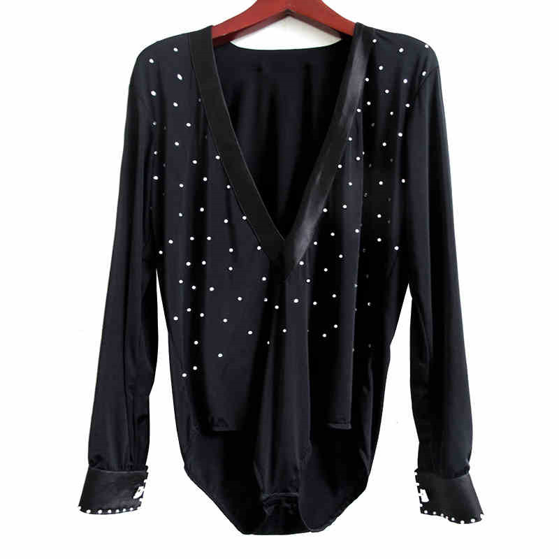 Ballroom Dance Tops For Child Boy Dance Wear For Competitio Rumba Samba Flamenco Dance Tops Professional Boys Latin Shirt