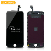10PCS Wholesale 100 No Dead Pixel LCD Screen For IPhone 6 Display Touch Screen Digitizer Assembly