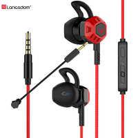 G100X PC Gaming Auriculares auriculares con micrófono Control de volumen estéreo Cancelación de ruido para teléfono Xbox Gamer PS4