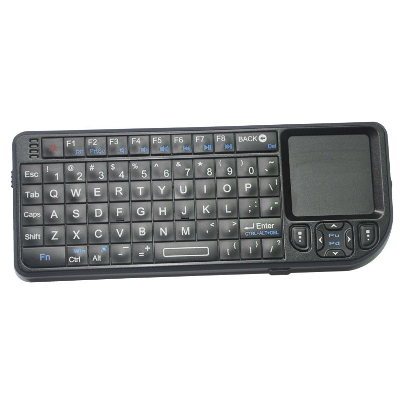 2.4GHz Wireless Keyboard with Touchpad for PC Pad Andriod TV Box Xbox360 PS3 HTPC/IPTV