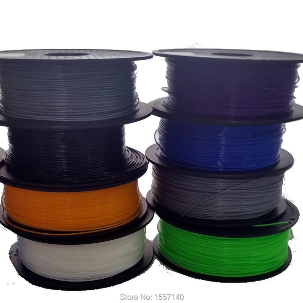 20 Colors 12KG 3D Filament PLA 1.75mm 3D Printing Materials For 3D Pen 3D Printer Wholesale Price 3d printer filament 50m 5 colors 10m color abs pla 1 75mm 3d filament printing materials for 3d printing pen 3d printer