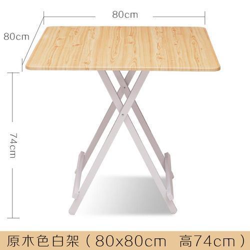 Meubles pliables de salon en bois de Table à manger de café, meubles à la maison de salle à manger