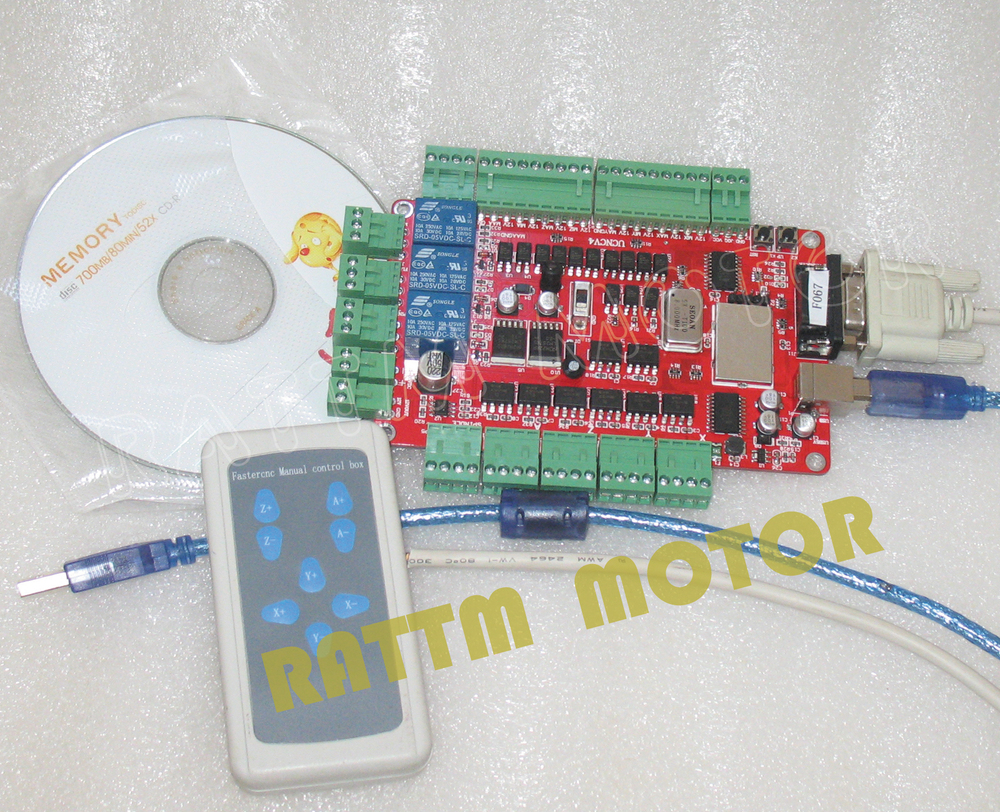 New products !!! 4 axis USBCNC breakout board