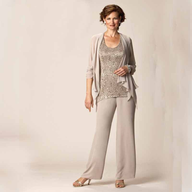 Elegant Switzerland Plus Size Mother Of The Bride Suit