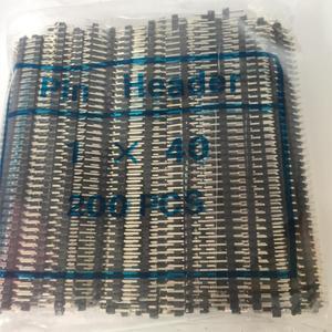 2,0 мм шаг 2,0 одиночный/двухрядный штыревой разъем 1*40P 2*40P поломка печатной платы цветной коннектор для Arduino