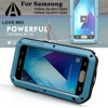 For Samsung Galaxy A5 2017 A520 Case LOVE MEI Shock Dirt Proof Water Resistant Metal Armor