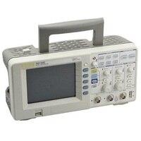 DS1102E 100 МГц цифровой осциллограф 2 аналоговых Каналы 100 МГц полоса пропускания цепи смешанных тест сигнала