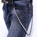 U7 Heavy Gunmetal Waist Biker Wallet Key Chain Rock Punk Trousers Motorcyle Men Jewelry HipHop Leather Pant Jean Chains Hot 003