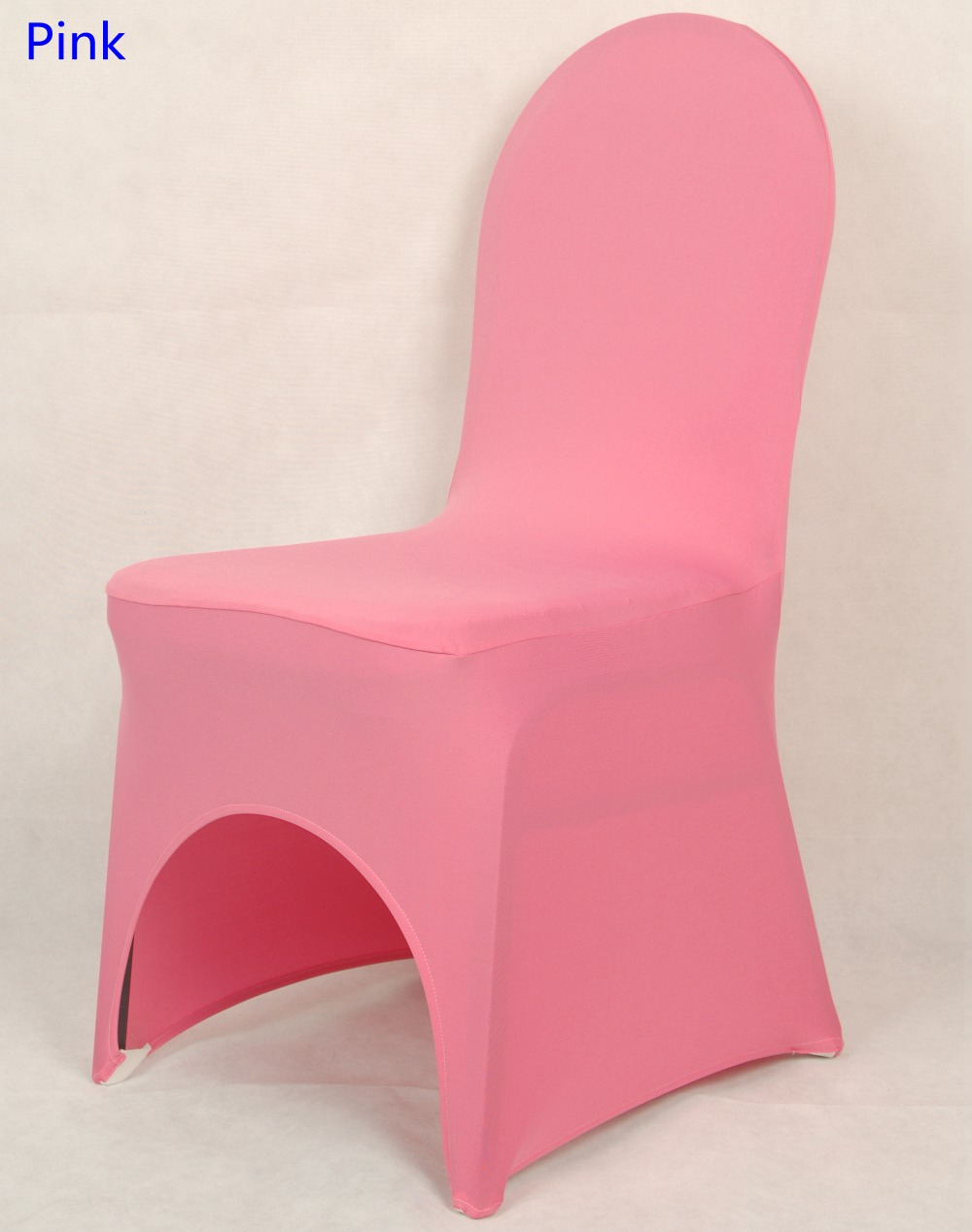 Universal Wedding Chair Covers Sale Aeron Manual ᗗchair Cover Pink Colour Lycra Spandex Stretch Banquet For Decoration Wholesale On