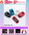 Top Quality car styling cover detector ABS Paint keys bag cases chain Wallet intelligent/fold for Great Wall C30 Haval H5