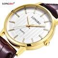 2017 LONGBO Luxury Quartz Watch Casual Fashion Leather Watches Men Women Couple Watch Sports Analog Wristwatch Gift 80256