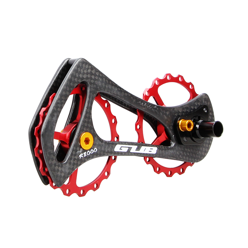 R6000 17T Bicycle Rear Derailleur Pulleys Wheel Bike Carbon Fiber Jockey Wheel For Shimano 5800/5700/4600/4700/105/<font><b>Tiagra</b></font> System image