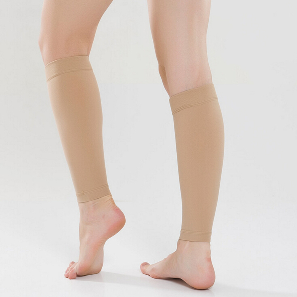 1 Pair Women Men Medical Support Leg Shin Socks leg Shaping Massager Varicose Veins Calf Sleeve Compression Brace Wrap