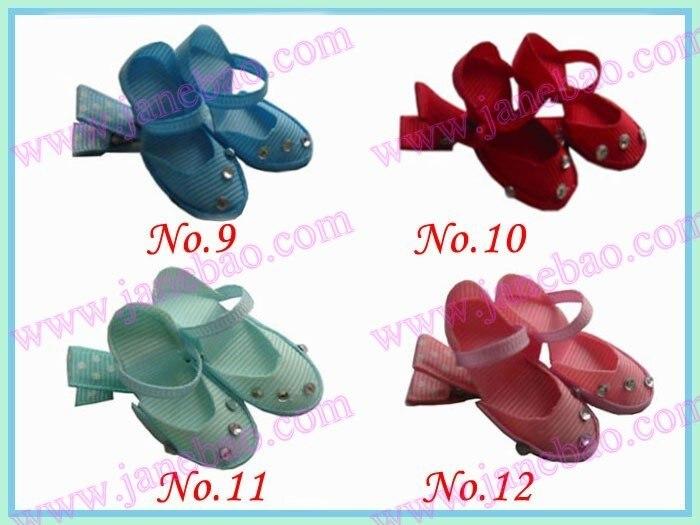 50 шт. символ волосы луки стиль бутик лук балетные туфли конфеты Clollipop house koradji шляпа обувь на высоком каблуке