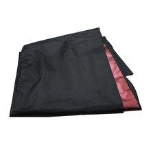 Черный Водонепроницаемый Стрижки Смотровое Окно Платье Салон Парикмахерская Ткань Инструмент
