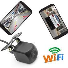 WIFI Telecamera di retromarcia di Visione Notturna Auto Camion Videocamera vista posteriore Mini Impermeabile Registratore di Guida Per IOS Per Android Tachigrafo
