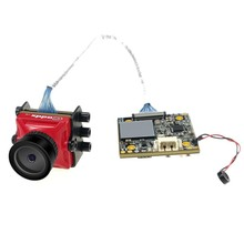 Caddx 거북이 V2 1080p 60fps FOV 155 학위 슈퍼 WDR 미니 HD FPV 카메라 OSD 마이크 RC 드론