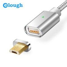 Elough e04 Магнитная Зарядное устройство Кабель Micro USB кабель для Xiaomi Android мобильных телефонов Быстрая зарядка магнит Зарядное устройство Кабель MicroUSB Провода