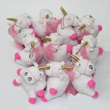 13cm 1pcs Plush Toys Unicorn Plush keyring keychain pendant Soft Stuffed toys For Kids gift