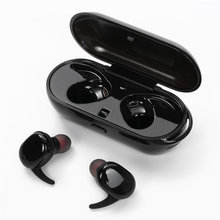 Newest TWINS Touch Control Wireless Bluetooh Earphones with Power Storage Box for Sports for Business Mini Earpieces
