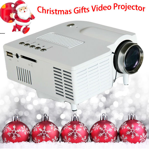 Festival Gift Mini Video Projector HDMI Portable For Kids Game Xbox PS4 Entertainment LED Proyector Home Used