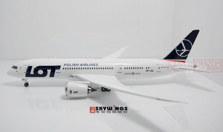 Phoenix 20093 Poland SP-LRA Airlines 1:200 commercial jetliners plane model hobby B787-8 phoenix 20109 b787 9 tomo ja830a dachi 1 200 ana commercial jetliners plane model hobby