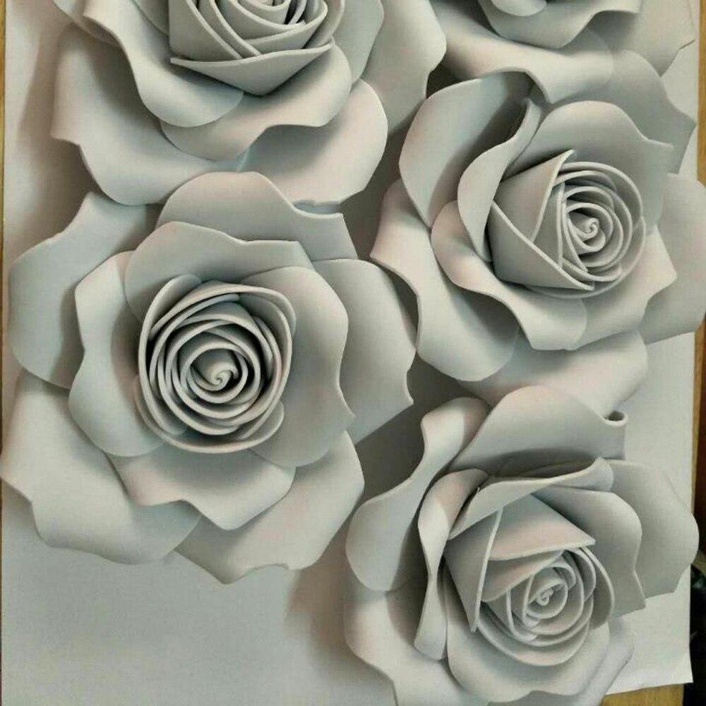 100% handmade15CM Αφρός λουλούδι Κόμμα - Προϊόντα για τις διακοπές και τα κόμματα - Φωτογραφία 2