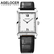 AGELOCER Watches Women Luxury Brand Watch Quartz Wristwatches Fashion Steel Dive 50m Casual Watch relogio feminino