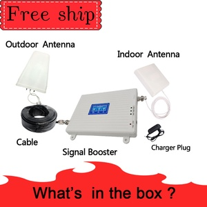 Image 5 - 70dB Gain 2g 3g 4g Tri Band Signal Booster 850 1800 2100 CDMA  WCDMA UMTS LTE Cellular Repeater 850/1800/2100mhz Amplifier