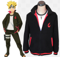 Anime Naruto Uzumaki Boruto Fleeces Cosplay Costume Boruto Casual Hoodie Daily Thicken Jacket Sweatshirts
